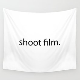 shoot film. Wall Tapestry