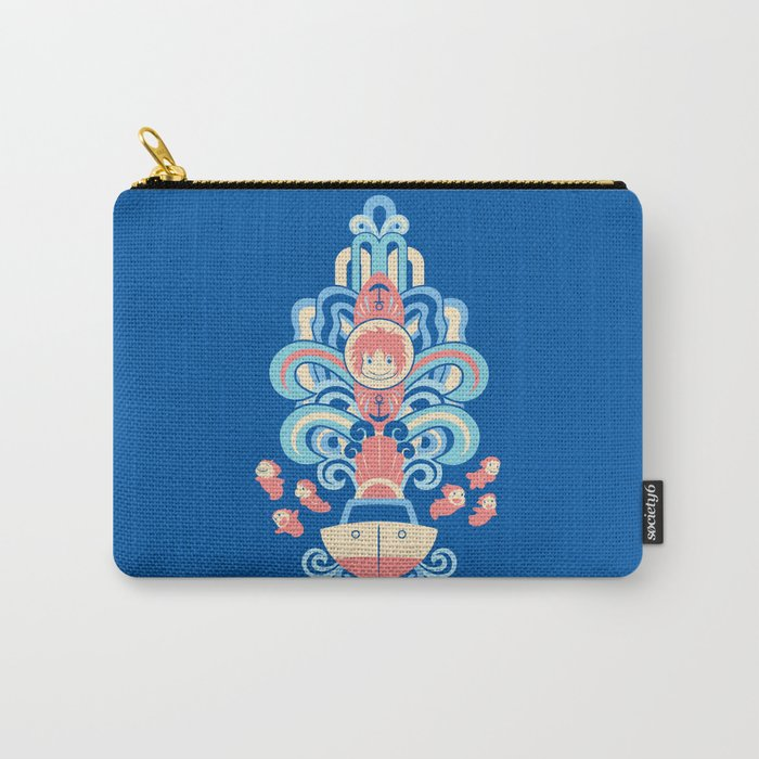 Ponyo Deco Carry-All Pouch