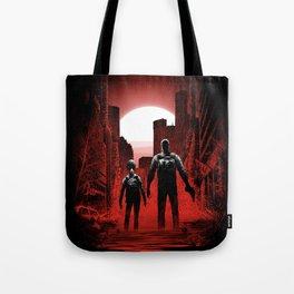 Quarantine: Joel and Ellie Tote Bag