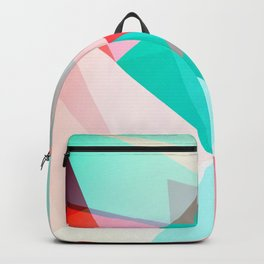 FRACTION - Abstract Graphic Iphone Case Backpack