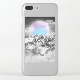 It Seemed To Chase the Darkness Away II Clear iPhone Case