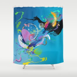 Helium Shower Curtain