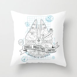 Corell Industries Limited Throw Pillow