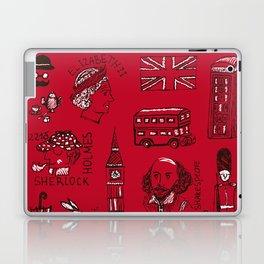 English pattern Laptop & iPad Skin