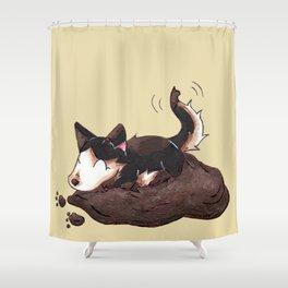 Mud Puppy Shower Curtain