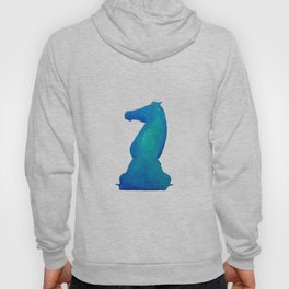 Chess Knight Watercolor Hoody