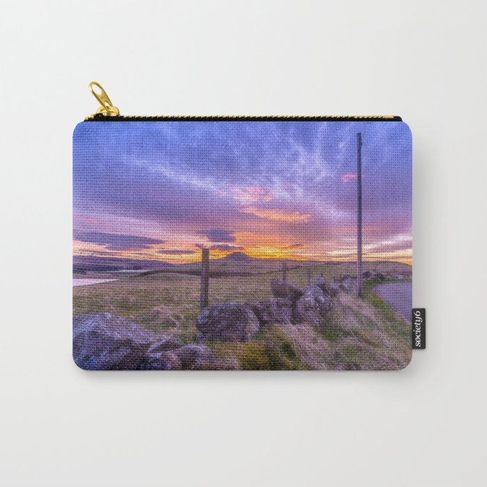 West Lomond Sunset Sky Carry-All Pouch