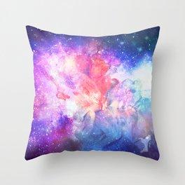 Nébuleuse Throw Pillow