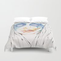 artpop Duvet Covers featuring ARTPOP by Alex Rocha