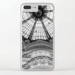 A Real Department Store - Look Up Clear iPhone Case