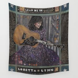 Loretta Lynn Wall Tapestry
