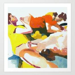 Piles Art Print