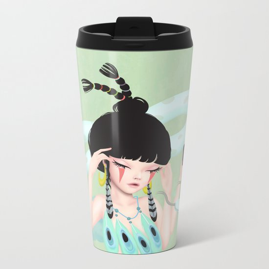 concentrate Metal Travel Mug