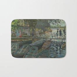Claude Monet - Bathers at La Grenouillère Bath Mat