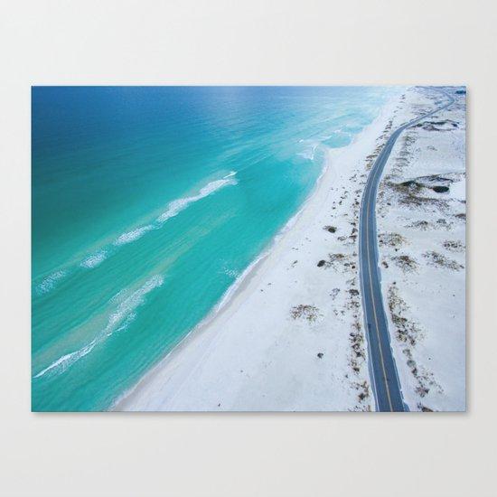 Ocean road paradise Canvas Print