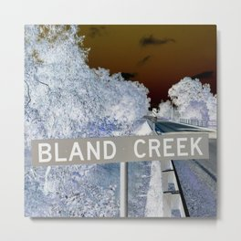 bland creek Metal Print
