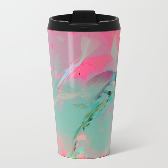 JAPANESE GARDEN Metal Travel Mug