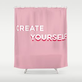 create yourself Shower Curtain