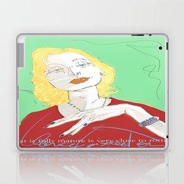 Clarice Lispector Laptop & iPad Skin
