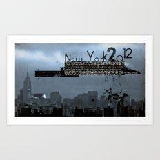 New York 2012 Art Print