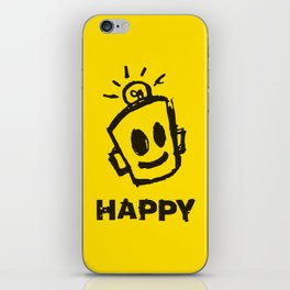 HAPPY  iPhone Skin