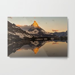Swiss Alps Journey Metal Print