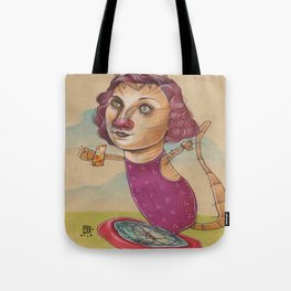 KITTY'S WATER WINGS Tote Bag