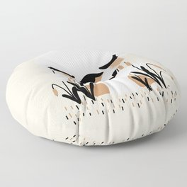 The Animignons - Swan Floor Pillow