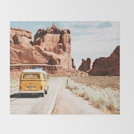 Van Life / Utah Throw Blanket