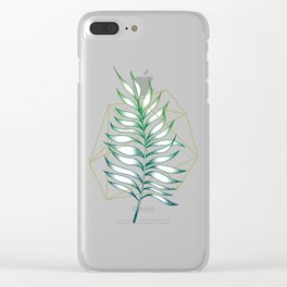 Geometry and Nature I Clear iPhone Case