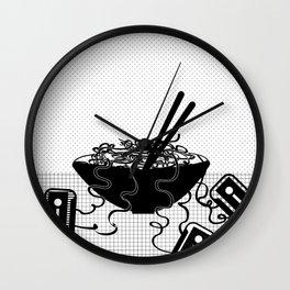 Musical noodles Wall Clock