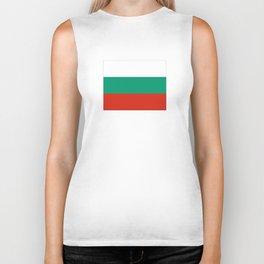 flag of bulgaria -bulgarian, България,български,slav,cyrillic,Sofia,bulgaria Biker Tank