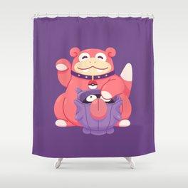 Get Lucky Shower Curtain