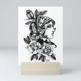 Gipsy Girl - TATTOO Mini Art Print