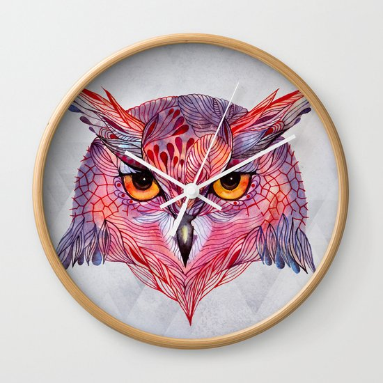 Owla owl Wall Clock