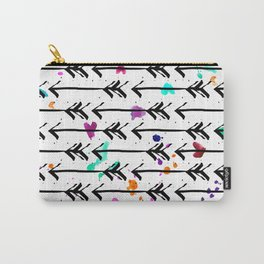 Watercolor Arrows Carry-All Pouch