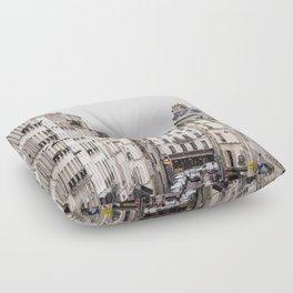 Montmartre View of Paris  Floor Pillow