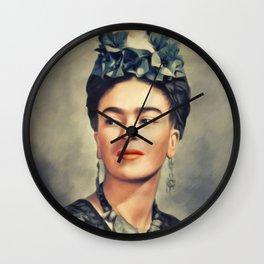 Frida Kahlo, Artist Wall Clock