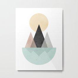 Minimalist Landscape XX Metal Print