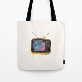 Yellow TV Tote Bag