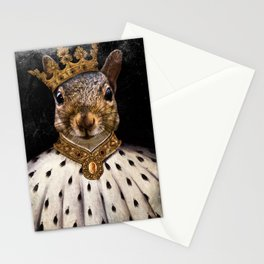 Lord Peanut (King of the Squirrels!) Stationery Cards