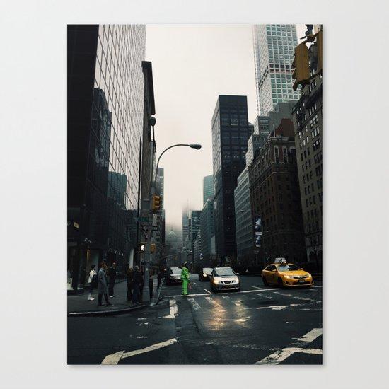 The city that never sleeps Canvas Print