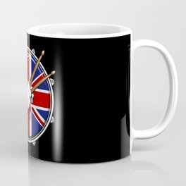Brit Fist Drummer Coffee Mug