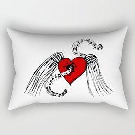 Heart Music Rectangular Pillow