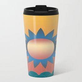 Golden Sunset 2 Metal Travel Mug