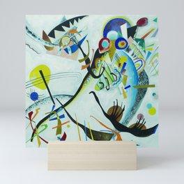 Vassily Kandinsky 1921 Segment blue Mini Art Print