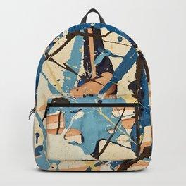Miniature Original - blue brown Backpack