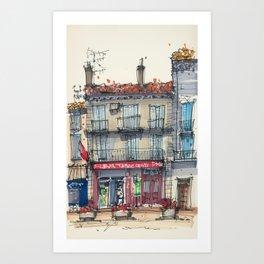 Bar Tabac Le 421 Art Print