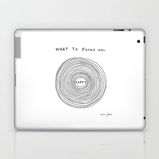 What to focus on Laptop & iPad Skin