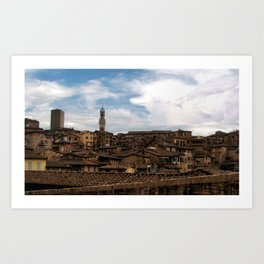 Siena Too, 2006 Art Print